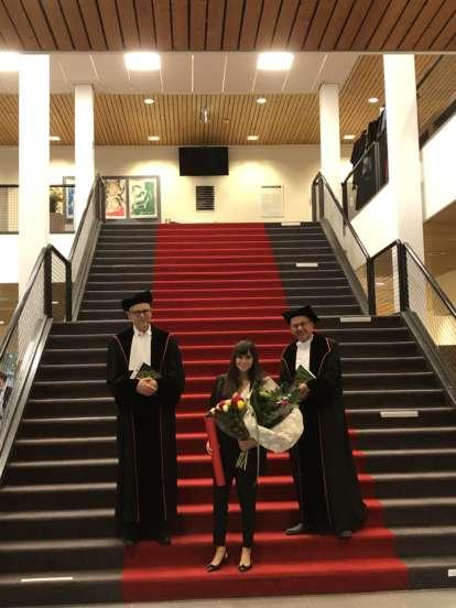 Cecilia Mazzetti awarded PhD